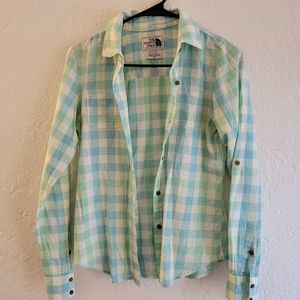 The North Face Button Up Size XS
